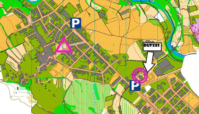 Mapa centre competició